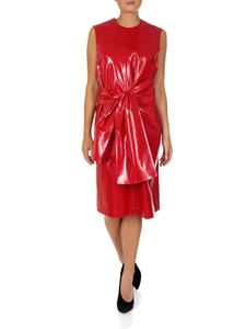 MSGM - Red coated dress