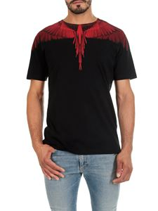 Marcelo Burlon - Wings black and red T-shirt