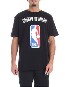 "Marcelo Burlon - ""Nba"" black T-shirt"