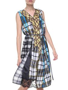 Marc Jacobs  - Abito patchwork in crepe-de-chine