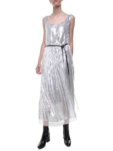 Marc Jacobs  - Tulle and sequins silver dress