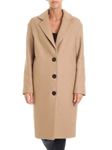 Semicouture - Claudett camel color coat