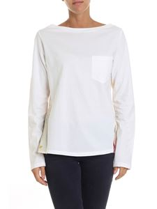 Semicouture - White top with chest pocket