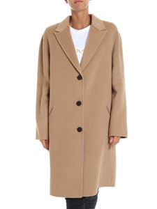 Kenzo - Beige unlined coat with lapels