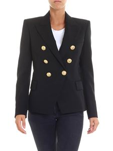 Balmain - Black jacket with lapels