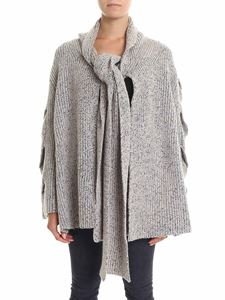 See by Chloé - Mud and black woven cardigan