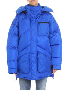 Givenchy - Electric blue padded jacket