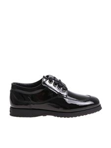 Hogan - Traditional black patent leather shoes