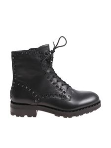 Ash - Wolf black ankle boots