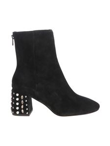 Ash - Hyde black ankle boots