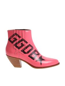 Golden Goose Deluxe Brand - Pink Texan ankle boots