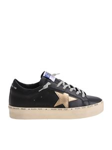 Golden Goose Deluxe Brand - Hi-Star vintage effect black sneakers