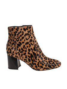 "KENDALL + KYLIE - ""Hadlee"" animalier ankle boots"