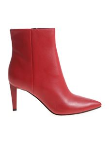 "KENDALL + KYLIE - ""Zoe"" red ankle boots"