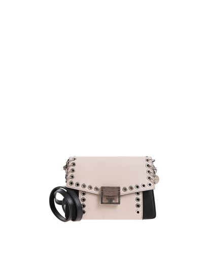 Givenchy - Two-colored bag with metal details