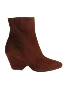 Vic Matiè - Brown pointy ankle boots