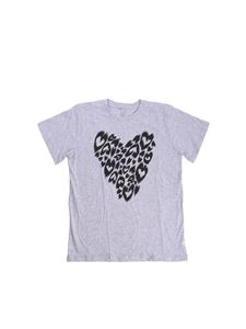 Stella McCartney Kids - T-shirt Arlo Hearts grigia