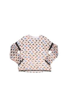 Pinko Up - T-shirt Fandango color crema