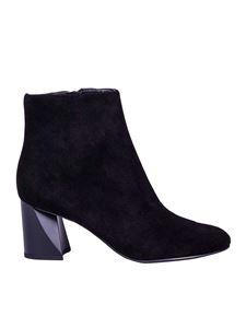 KENDALL + KYLIE - Hadlee black suede ankle boots