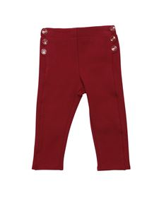 Chloé - Red pants with buttons