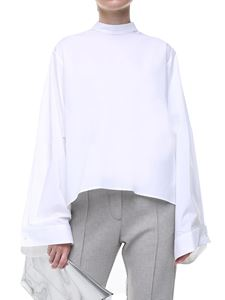 MM6 by Maison Martin Margiela - White blouse with oversize sleeves
