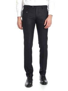 berWich - SC Elegant black and gray trousers