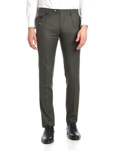 berWich - SC Milano green trousers