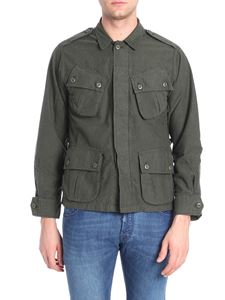 Bagutta - JShot green unlined field jacket