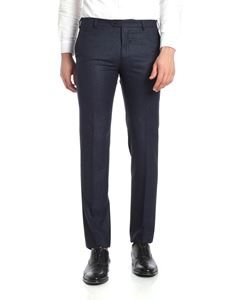 berWich - Patrizio blue and black trousers