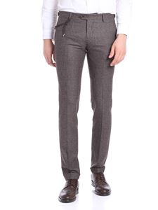 berWich - SC Elegant brown and gray trousers