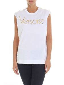 Versace - White top with logo