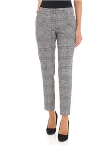 Trussardi Jeans - Black and white Prince of Wales trousers