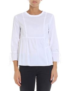 Trussardi Jeans - White blouse with logo