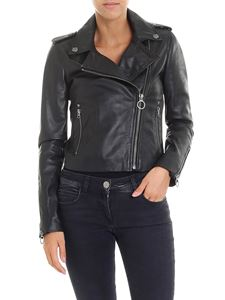 Pinko - Tenaglia black leather jacket