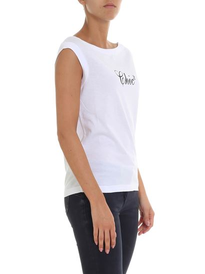 Dsquared2 - White printed chic top