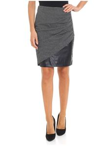 Pinko - Spillo black and white skirt