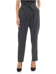 Pinko - Carion 1 charcoal and black trousers