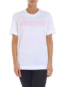 Versace - White t-shirt with logo