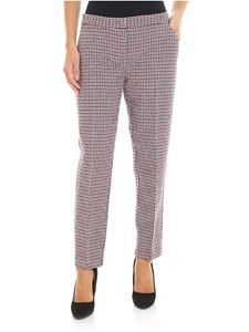 Pinko - Bello 61 houndstooth trousers