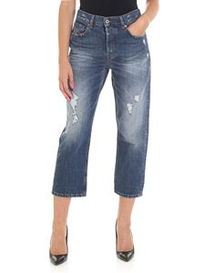 Diesel - Blue Angel jeans with rip detail