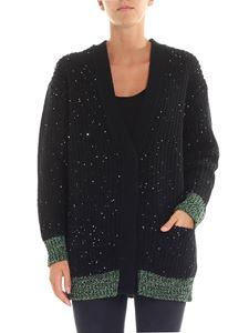 N° 21 - Black cardigan with sequins