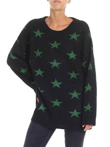 N° 21 - Black pullover with contrasting stars