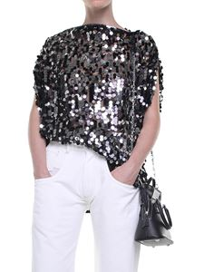 MM6 by Maison Martin Margiela - Tulle and sequins top