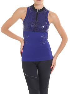 Adidas by Stella McCartney - Run Exclusive blue and black top