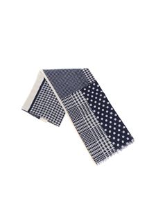Altea - Polka dot and houndstooth scarf