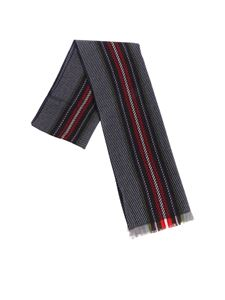 Altea - Wool scarf with multicolor stripes