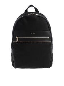 Paul Smith - Black nylon backpack