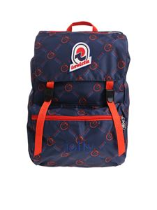 Pinko - Blue and red Jolly In Love backpack