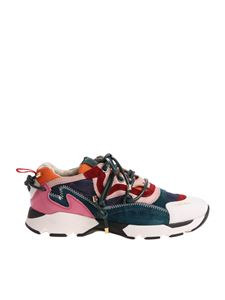 Carven - Multicolor sneakers with white tip