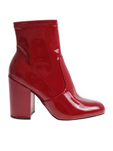 Steve Madden - Gaze red ankle boots